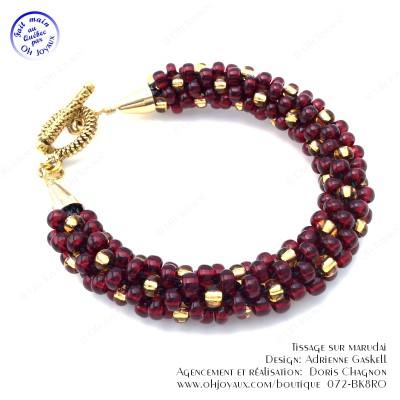 Bracelet L'or et le rubis