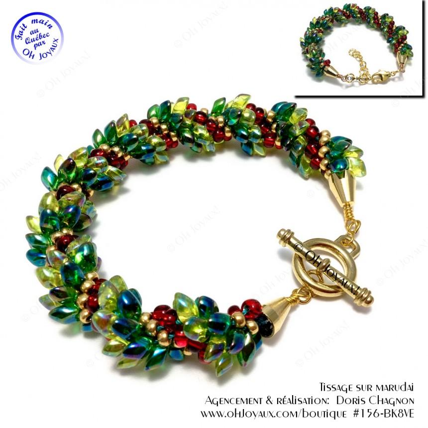 Bracelet Couronne de Noël