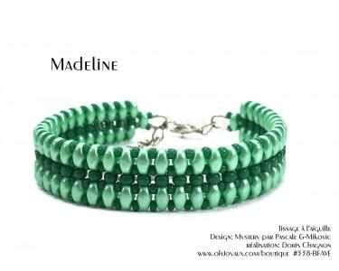 "Bracelet ""Madeline"" en vert menthe"