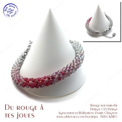 Bracelet Du rouge à tes joues