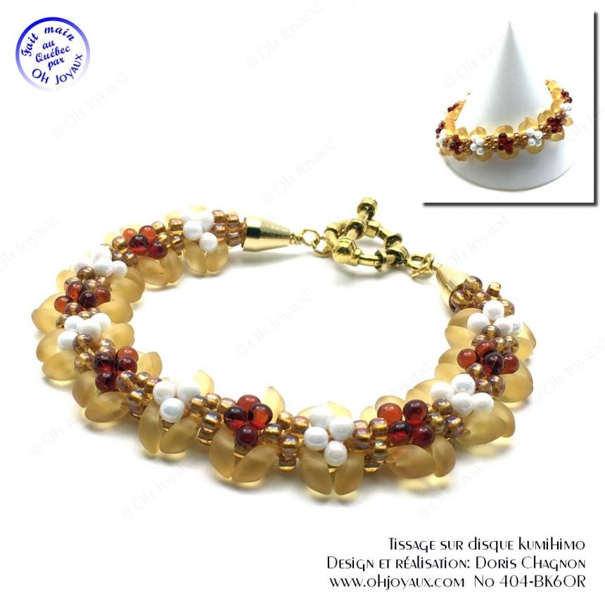 Bracelet Nuits étoilées en or