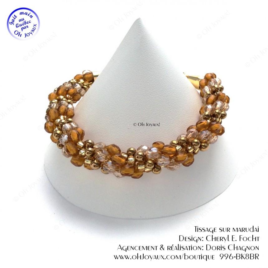 Bracelet Enroulé d'or