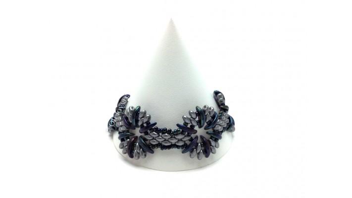 """Bracelet """"L'heure bleue"""""""