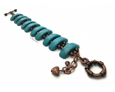 """Bracelet """"Simplement turquoise"""""""