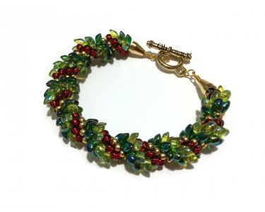 """Bracelet """"Couronne de Noël"""""""