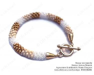 """Bracelet """"Crème au caramel"""""""