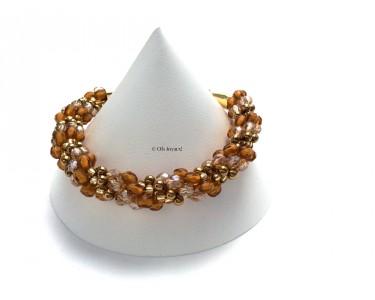 """Bracelet """"Enroulé d'or"""""""