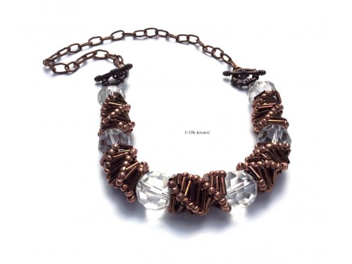 Collier Spirales russes